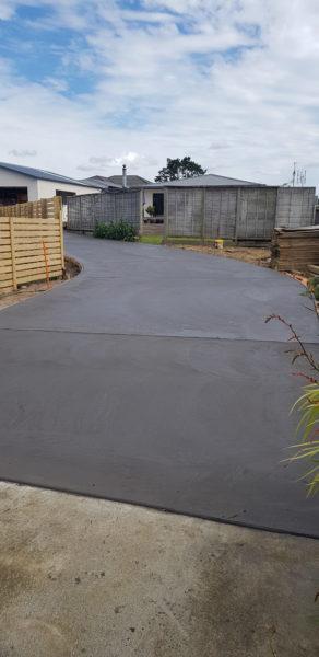 Driveway Concrete Floor